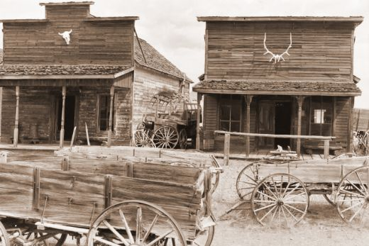 Ghost Towns in the American