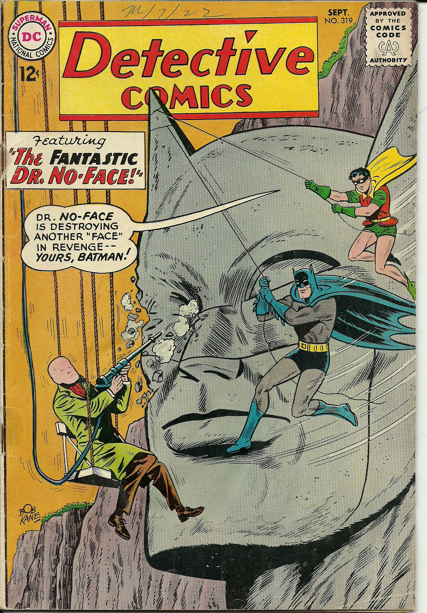 Detective Comics–No. 319–September 1963. In good condition. All ...