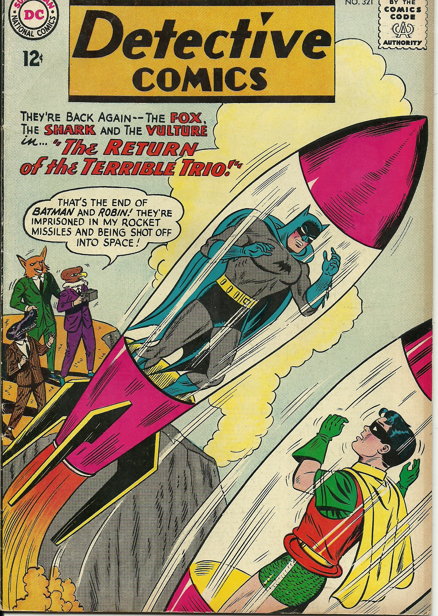 Detective Comics–No. 321–November 1963, In good condition. All ...