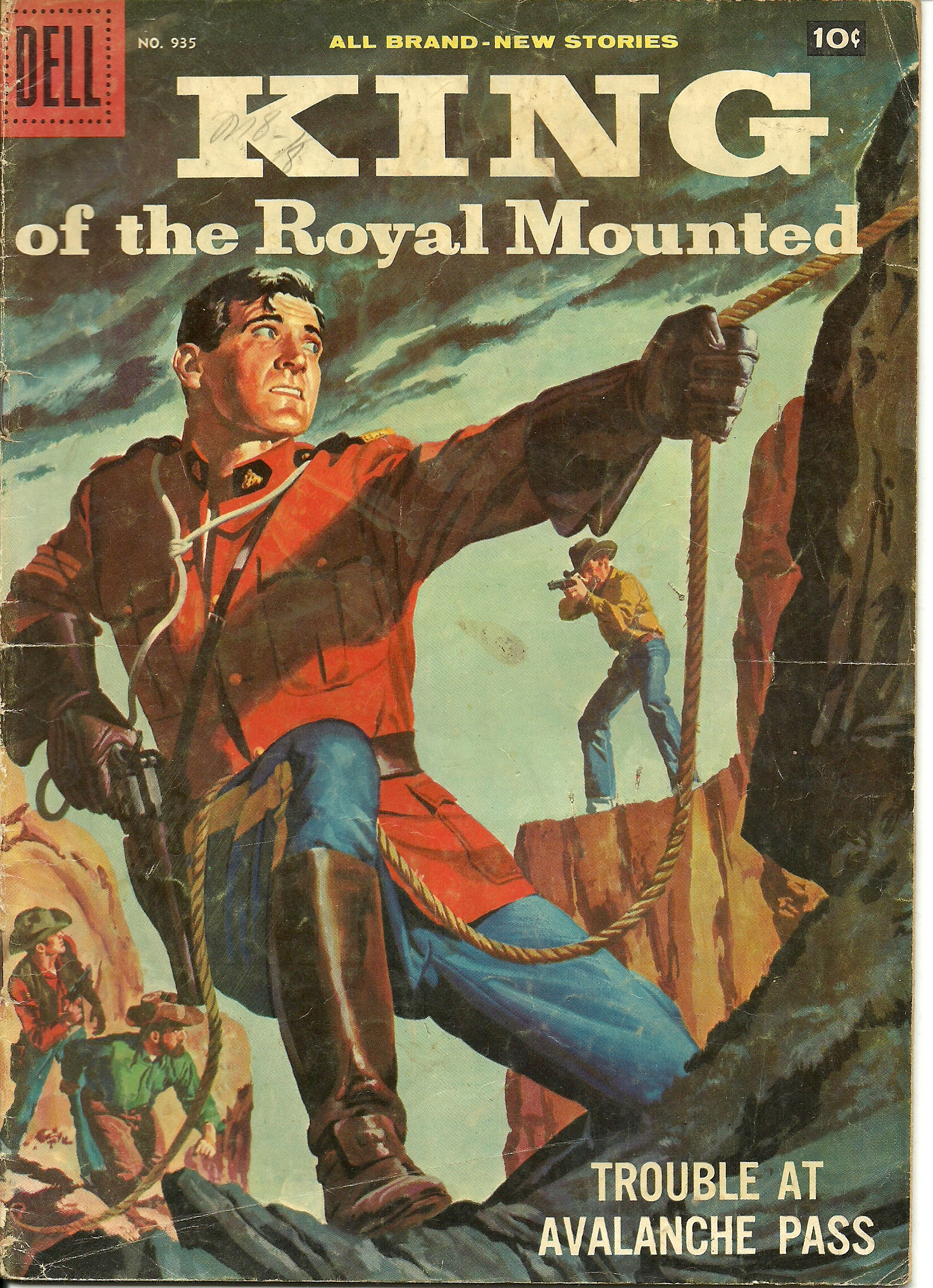King of the Royal Mounted–No. 935–1958. In good condition. All ...