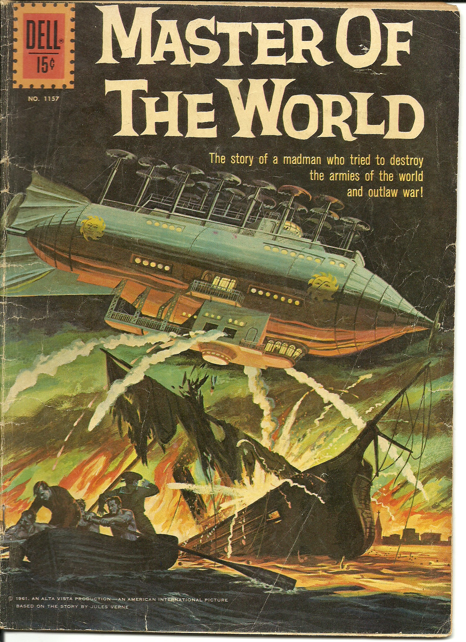 Master of the World–No. 1157–1961. In good condition. All pages ...