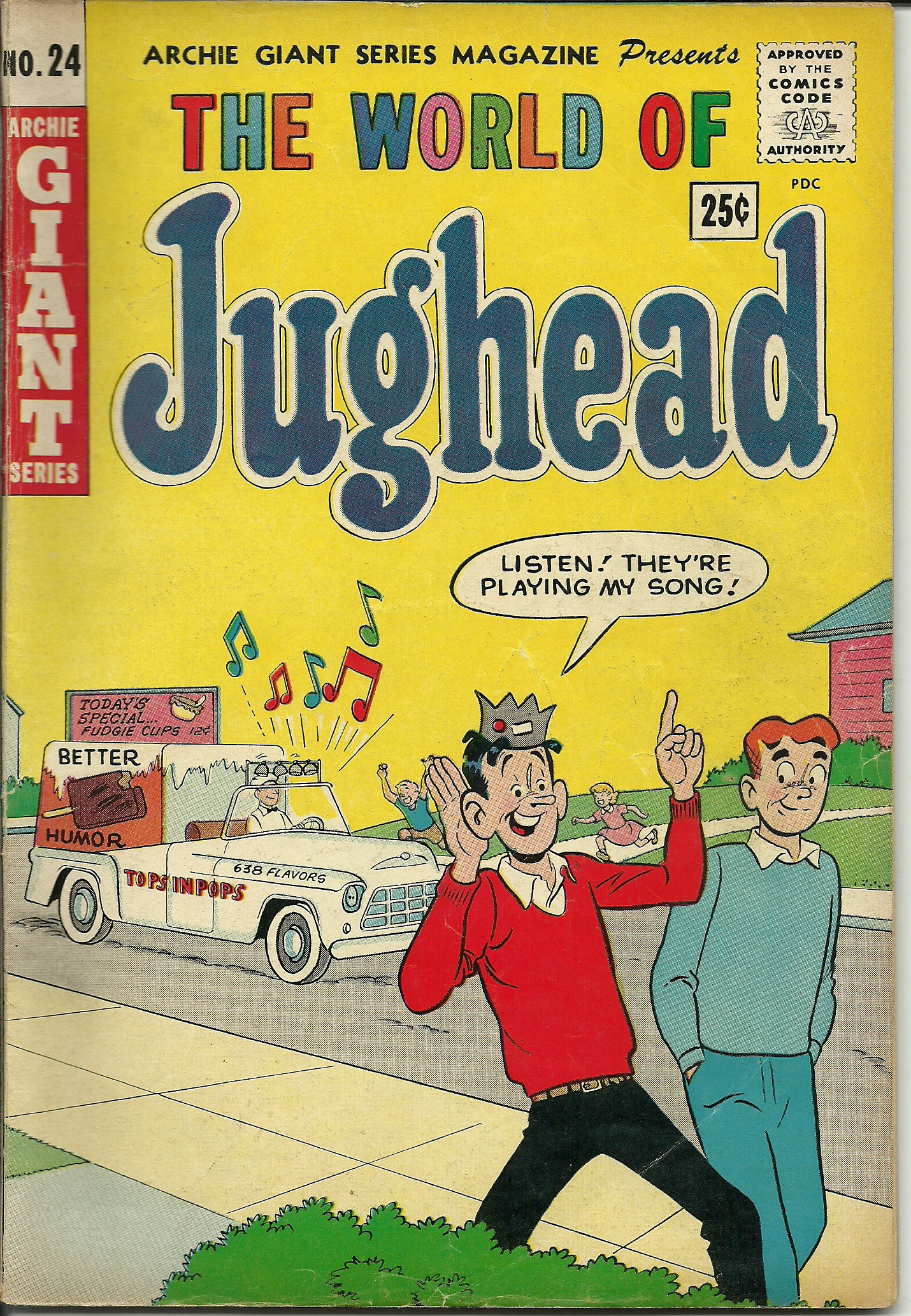 The World of Jughead, No. 24, December 1963. In good condition. All ...