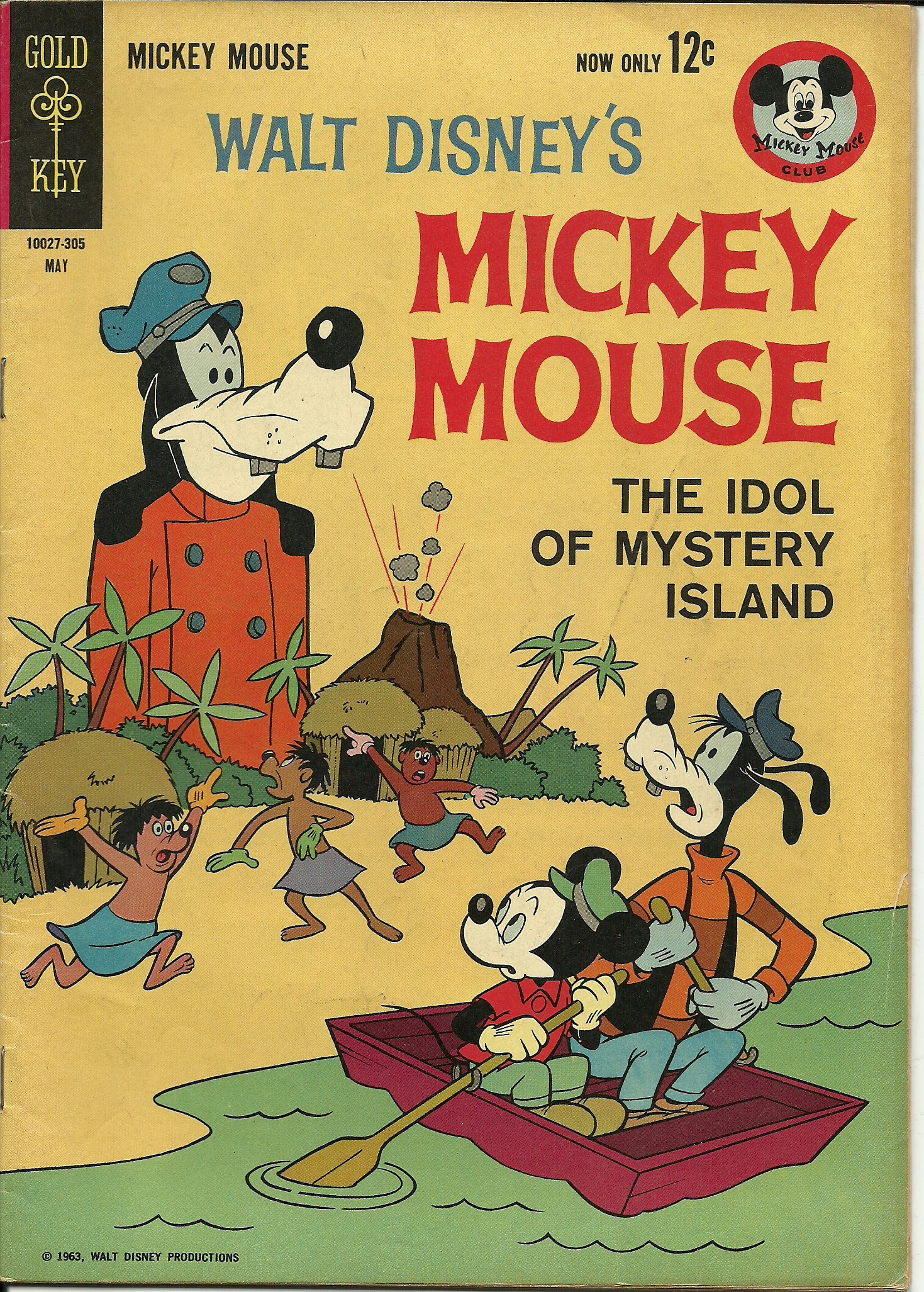 Walt Disney\'s Mickey Mouse, No. 87, May 1963. In good condition ...