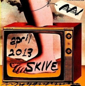 Skive Magazine April Fools' Issue 2013 cover
