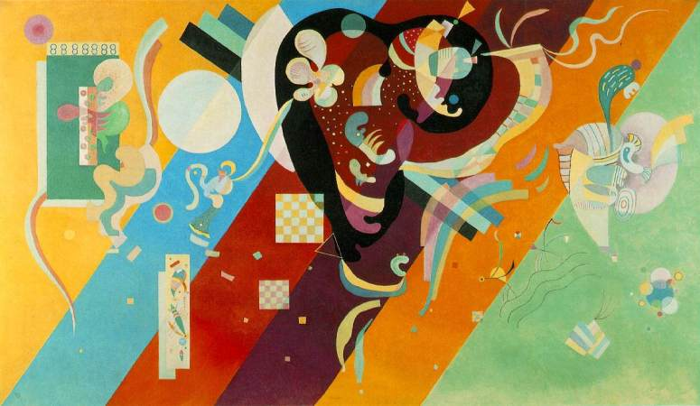 Composition 9 by Wassily Kandinski