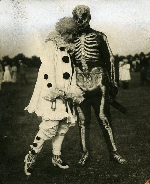 Costumed couple