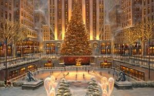 Rockefeller Center at Christmas image 2