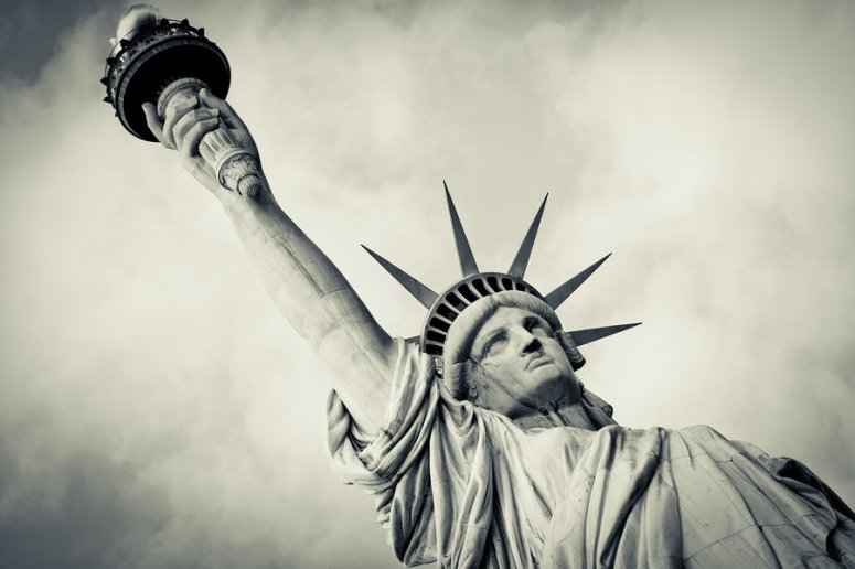 Vintage Statue of Liberty