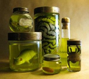 Head in a Bottle image x