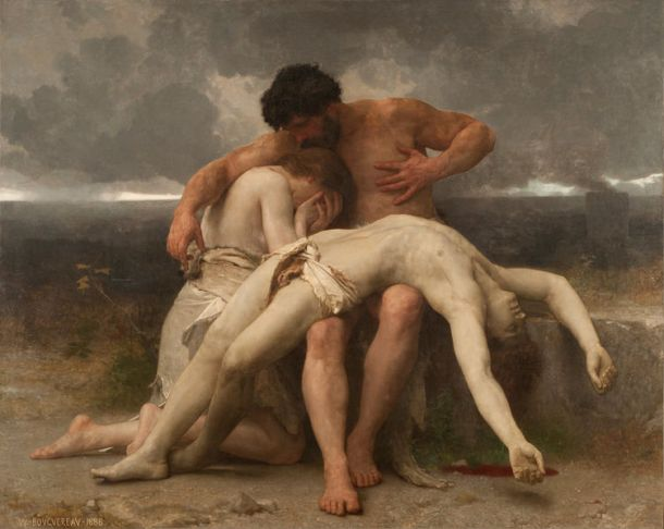 William_Bouguereau_-_El_primer_duelo