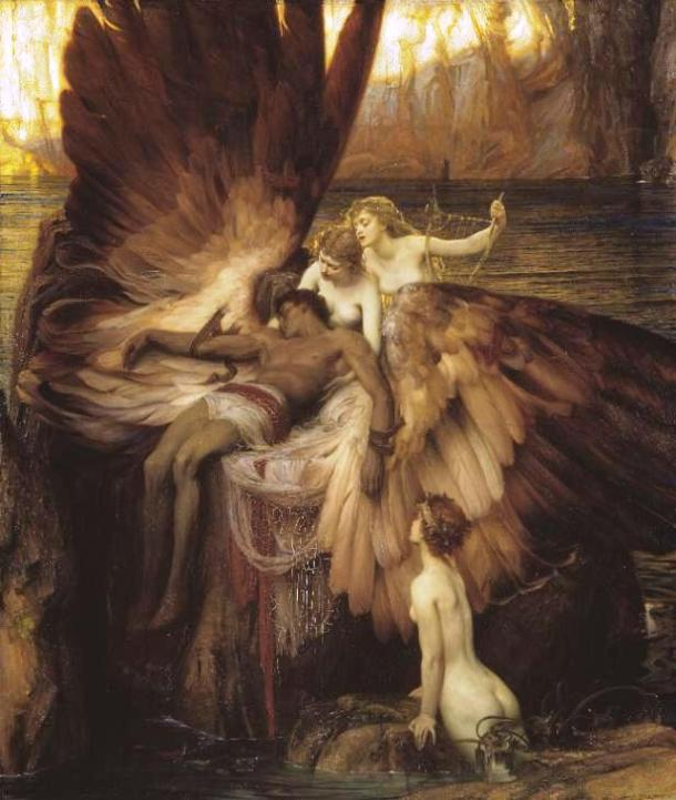 The Lament for Icarus by Herbert James Draper