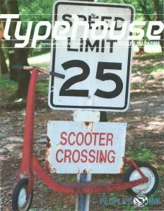 Typehouse, September 2014, Issue 3, cover