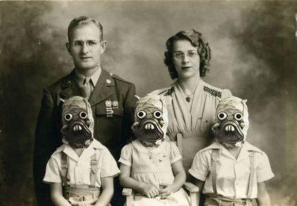 Odd family picture