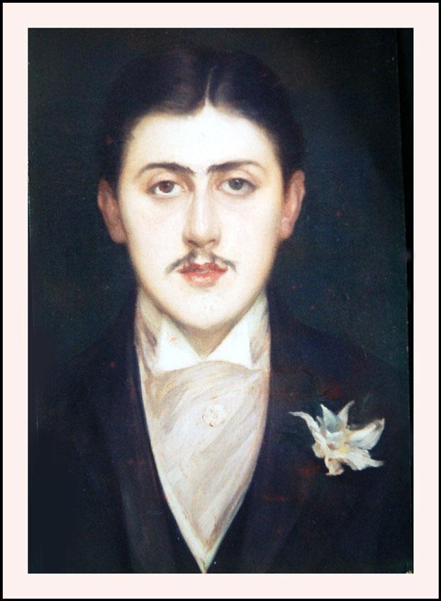 Retrato de Marcel Proust por Jacques Emile Blanche