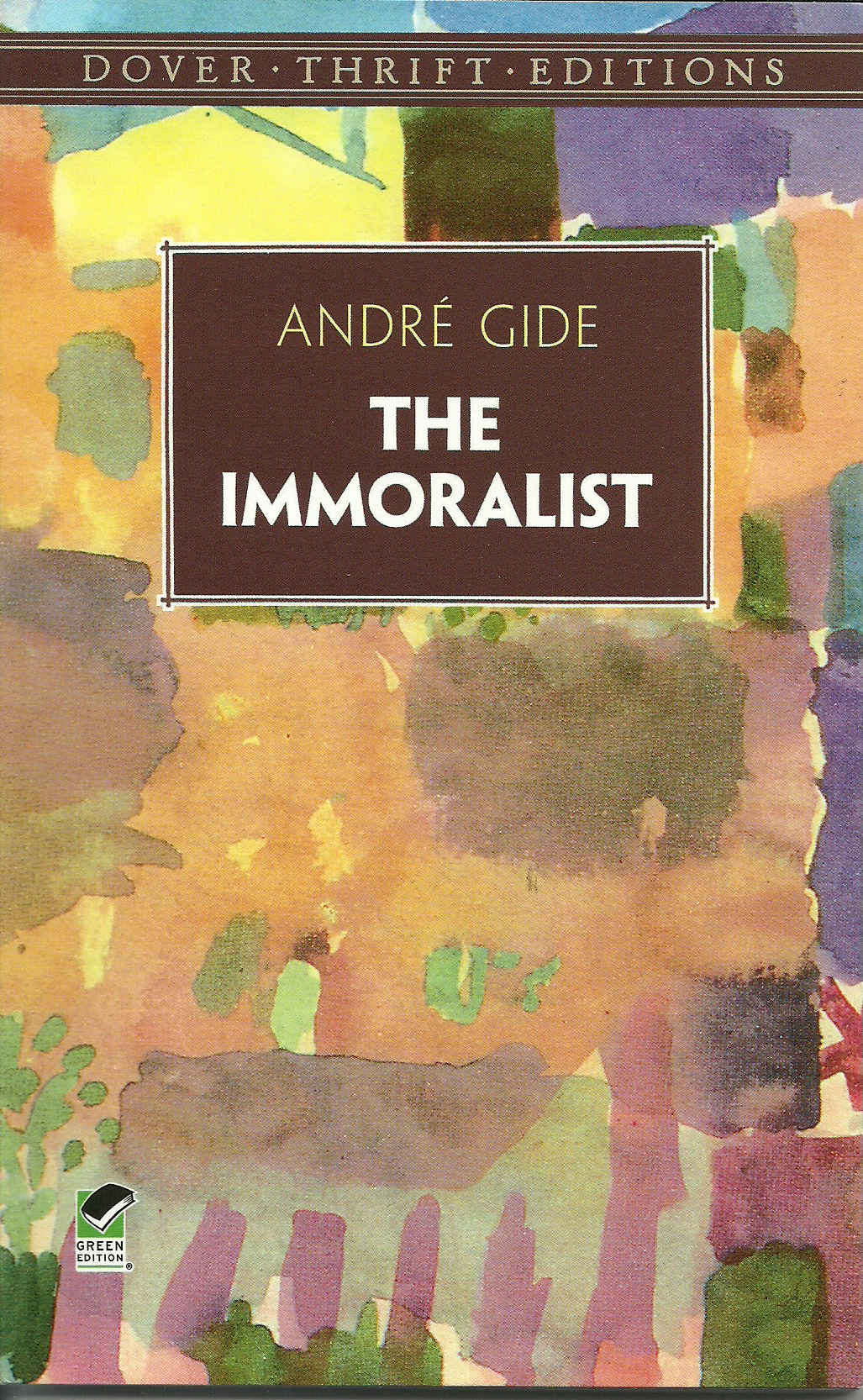 Homoertic ambiguity in the immoralist