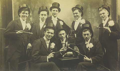 The Top-Hat-and-Cane Club