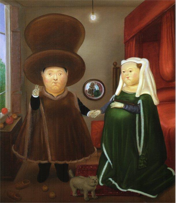 After the Arnolfini Van Eyck