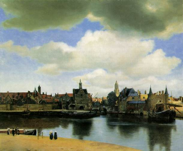 Vermeer, View of Delft 1
