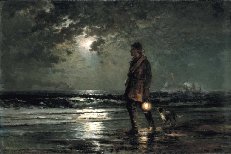 Edward Moran, Life Saving Patrol, 1893