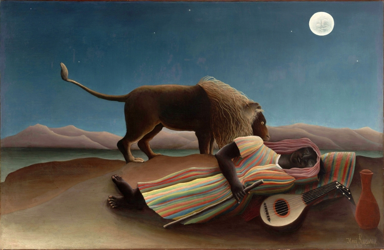 Henri Rousseau, Sleeping Gypsy