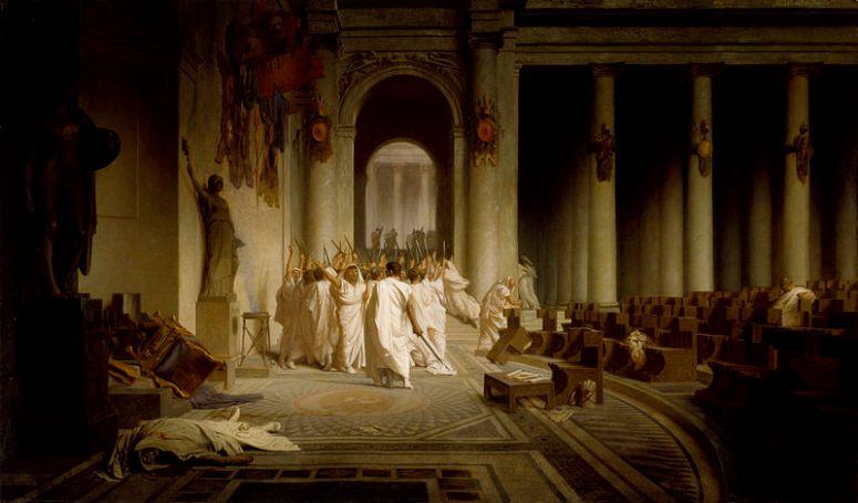 Gérôme ~ The Death of Caesar