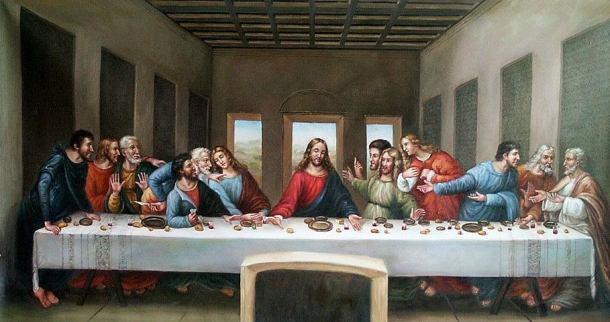 Last Supper 2 by Leonardo da Vinci