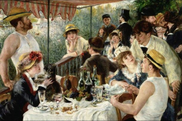 Luncheon of the Boating Party Renoir (1881)
