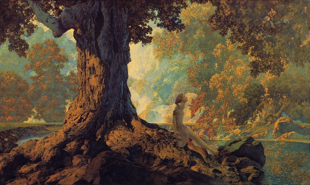 Maxfield Parrish ~ Dreaming