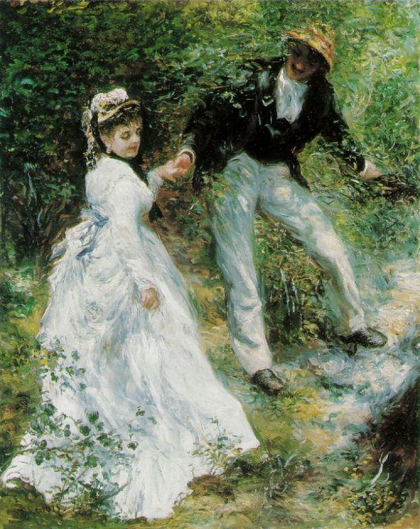 Pierre Auguste Renoir ~ La Promenade