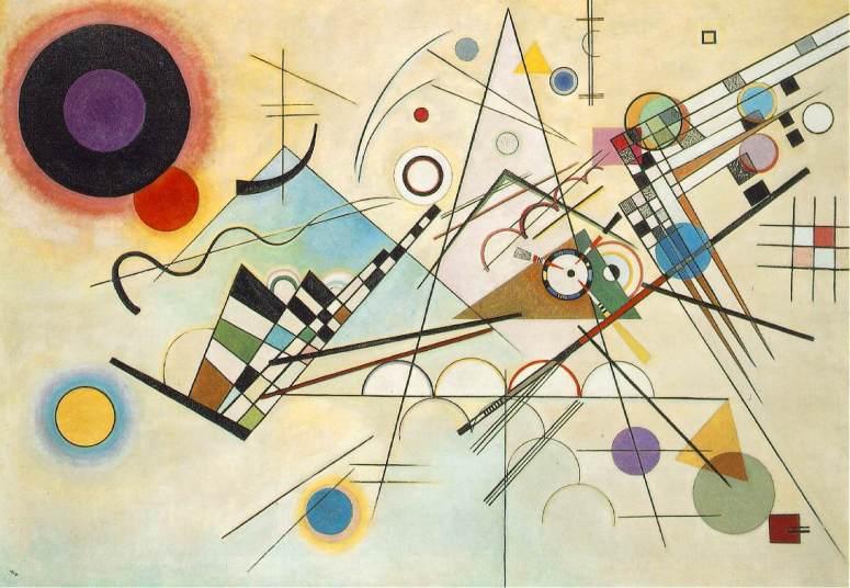Vasily Kandinsky ~ Composition 8