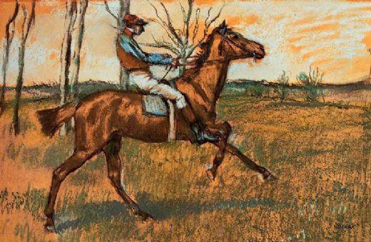 Edgar Degas ~ The Jockey