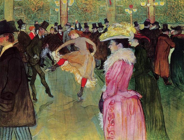 Lautrec ~ Dance at the Moulin Rouge