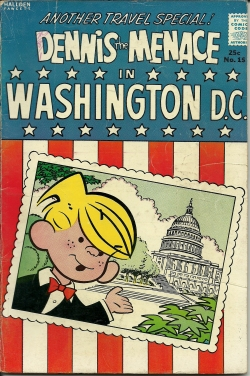 Dennis the Menace in Washington D.C.--No. 15--Summer63