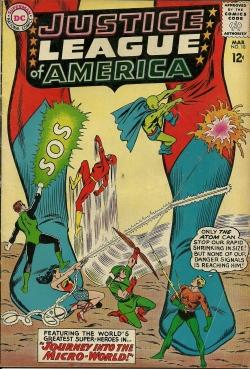 Justice Leage of America--No. 18--March63
