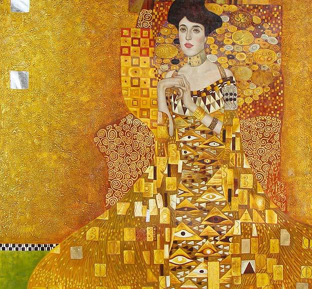 Klimt, Woman in Gold