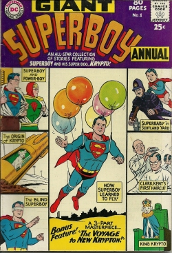 Superboy Annual--No. 1--Summer64