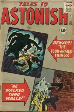 Tales to Astonish--Vol. 1, No. 26--Dec61