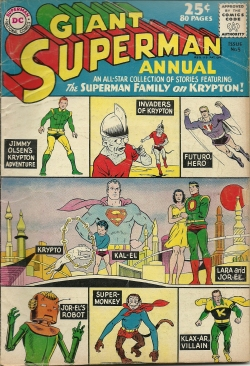 Superman Annual--No. 5, Summer 1962