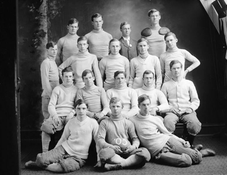 1905 ~ Football Team, Washington, D.C.